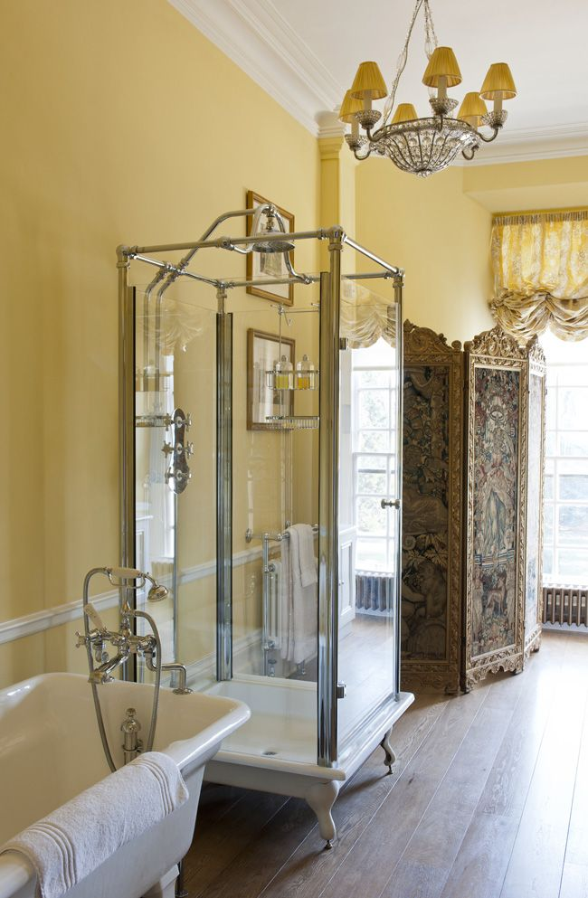 Is that the most gorgeous shower unit!? Bathrooms Spencer-Churchill Designs Ltd.