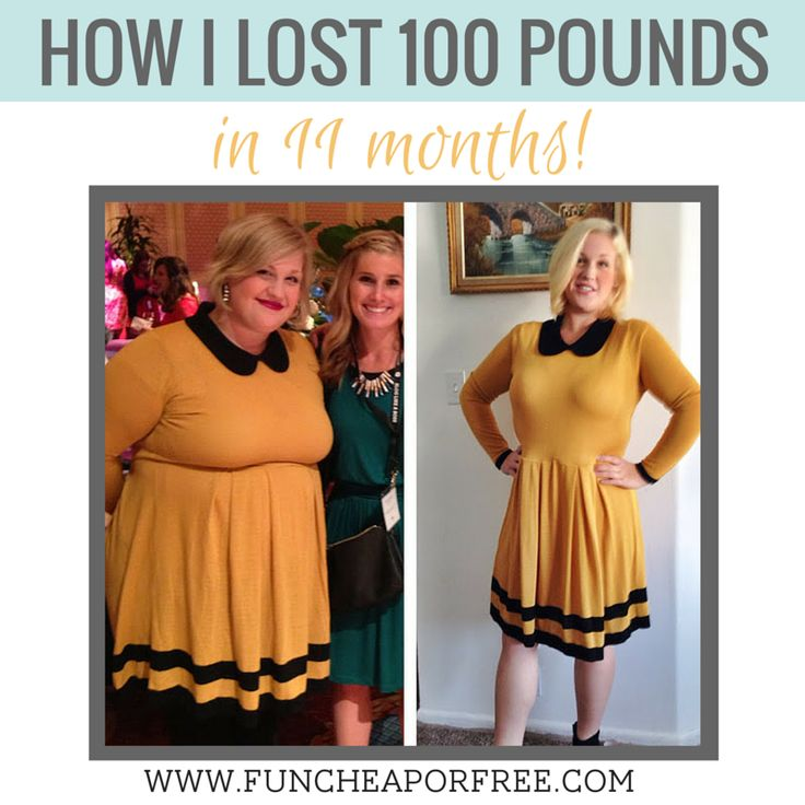 How I lost 100 pounds in 11 months. Guest post at Fun Cheap or Free.