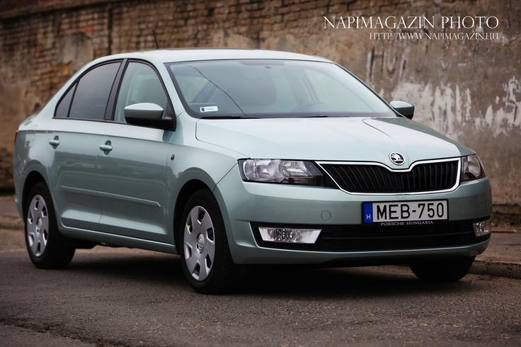[TESZT] Škoda Rapid 1.6 CR TDI Elegance - a le- és felmenők árnyékban - Napimagazin