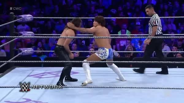 The match has just begun... but Kota Ibushi and Brian Kendrick are ALREADY bringing a brutal fight to the WWE Cruiserweight Classic on WWE Network!