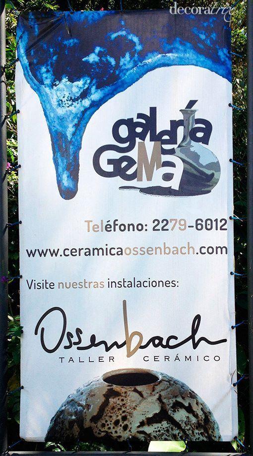Gema Ossenbach crea piezas de cerámica orgánica, hechas a mano y de exuberante belleza, con formas inspiradas en la naturaleza.