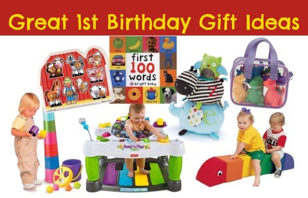 10 Great 1st Birthday Gifts For Girls And Boys! Pin This