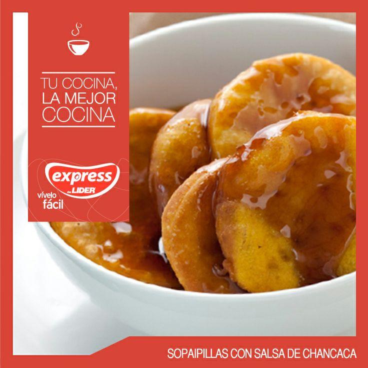 Sopaipillas con salsa de chancaca #Recetario #Receta #RecetarioExpress #Lider #Food #Foodporn #Mundial #Chile