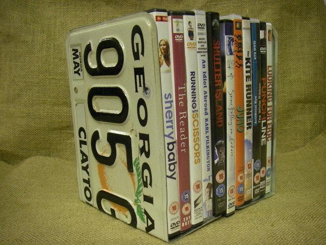 Book Ends Dvd Storage Georgia Licence Plates 8 50