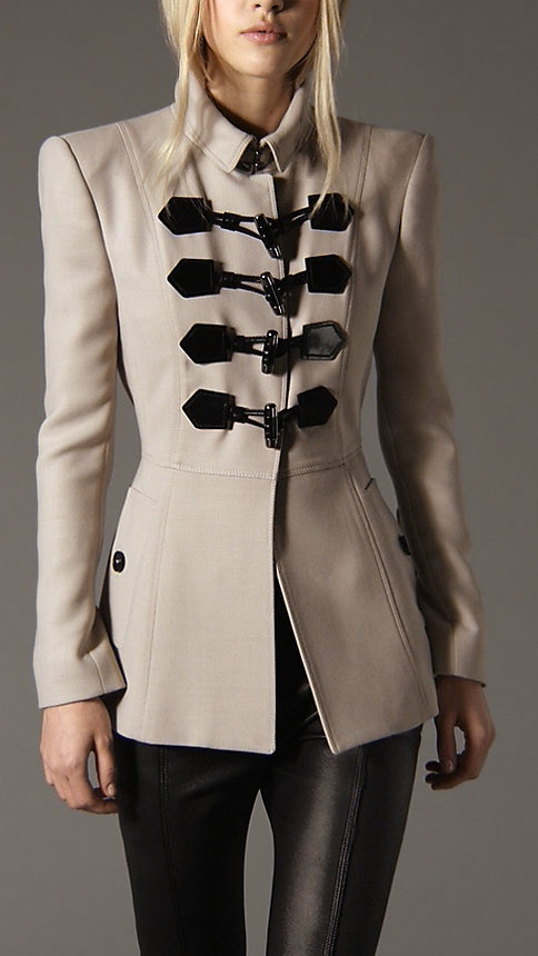 Burberry Military Trench: Jackets Coats Blazers, Burberry Coat, Fashion, Military Trench I, Burberry Jackets, Wool Blend, Wool Trench, Blend Duffle, Mode