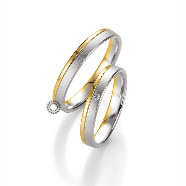 Βέρες γάμου BENZ 035 & 036 - Κλασικές βέρες Benz με ιδιαίτερη έμφαση στον ματ λευκόχρυσο | Κοσμηματοπωλείο ΤΣΑΛΔΑΡΗΣ στο Χαλάνδρι #βέρες #βερες #γάμου #αρραβώνων