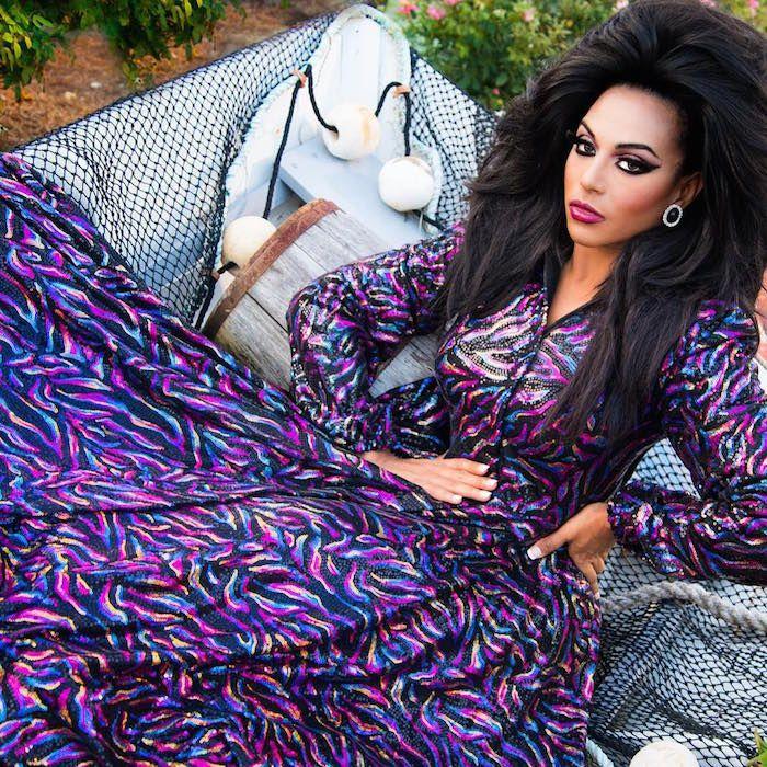Shangela Laquifa Wadley - She was on Seasons 2 & 3 of RuPaul's Drag Race.