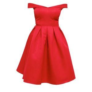 Chi Chi London JADE Sukienka koktajlowa red