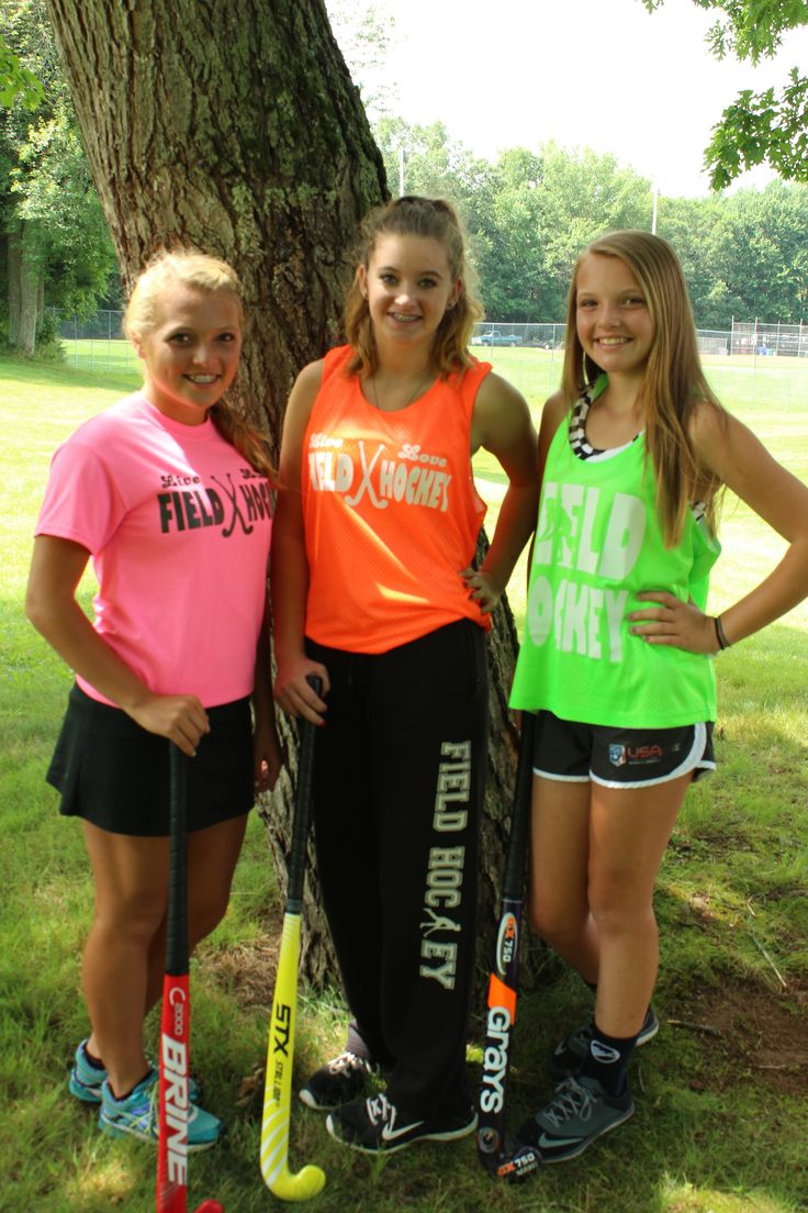 Check out some of our field hockey outfits! Mix and match to show your style, find your perfect field hockey outfit at www.varsitygirl.net