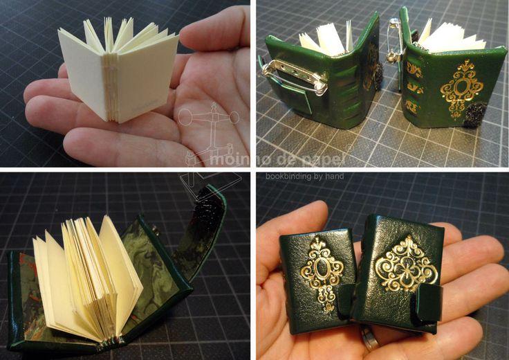 """Miniature books by """"Moinho de Papel"""""""
