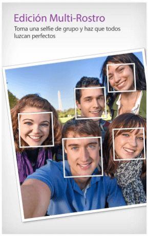 edicion multi-rostro youcam perfect