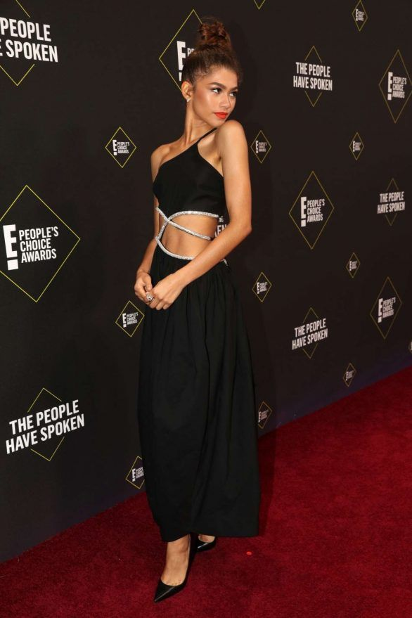 Best And Worst Dresses Of Top Stars At The E People Choice Award Red Carpet Em 2020 Vestidos Looks Moda