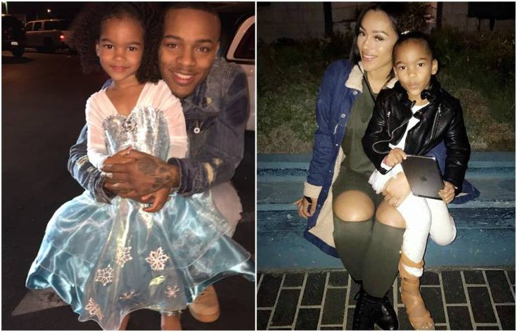Bow Wow's children - daughter Shai Moss