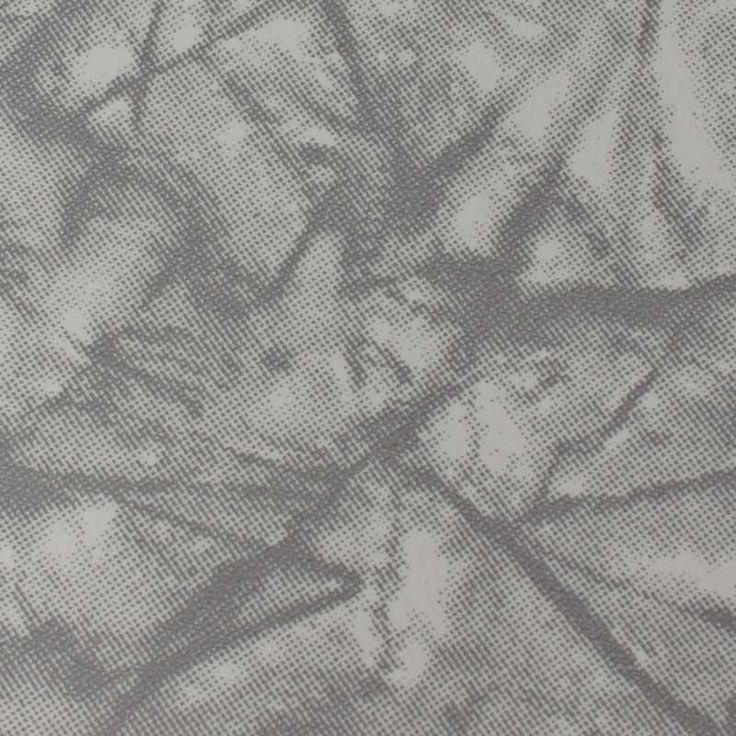 Grey Cracked Ice Vinyl Retro Furniture Upholstery Fabric