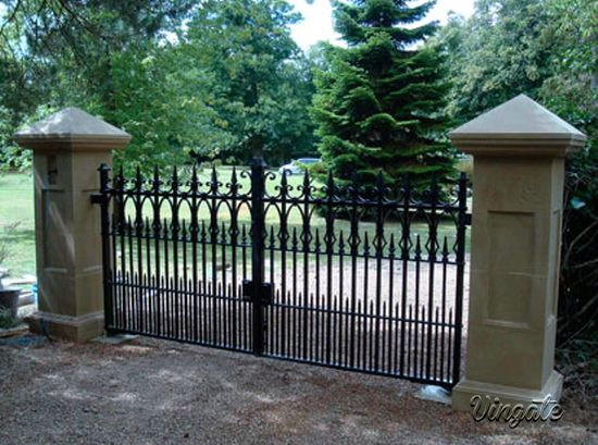 78 images about wrought iron tudor gates on pinterest Tudor style fence