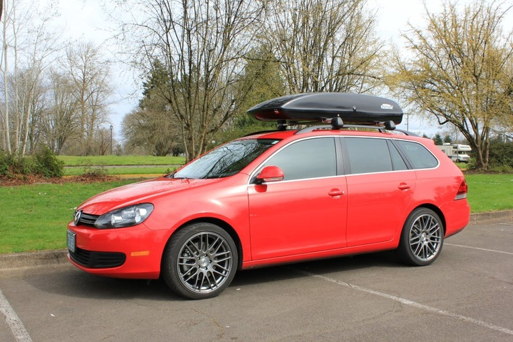 Packasport System 71ss on a 2011 Jetta Sportwagon TDI