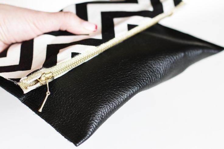 DIY Leather Clutches | Lilyshop Blog by Jessie Jane