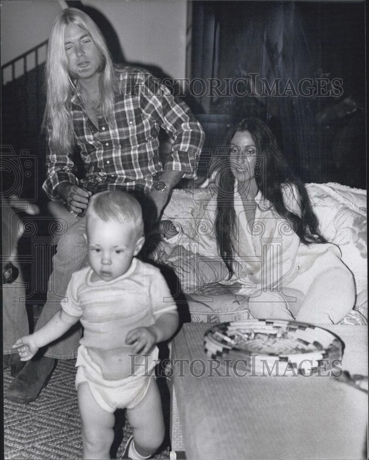 ~Cher (born Cherilyn Sarkisian on 5/20/1946), shown here with her two children, Chastity Bono (now ' Chaz') & Elijah Blue Allman.