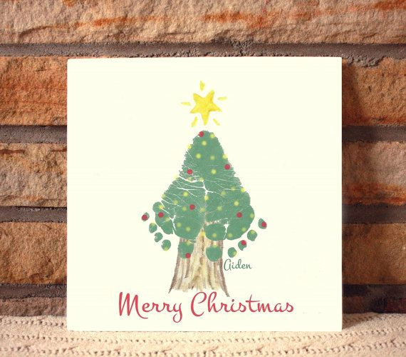 Christmas Tree Footprint Plaque 302A_Plq