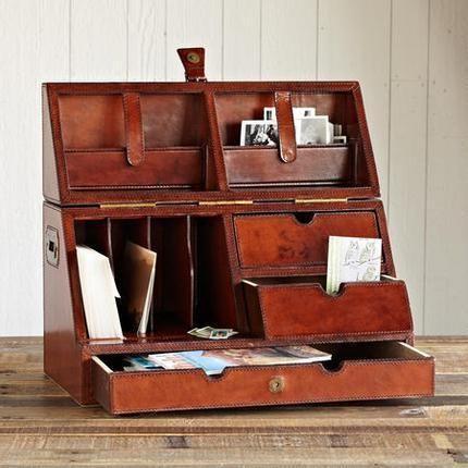 Leather Desk Organizer by Sundance - 61 Best Desk Organiser Wood Images On Pinterest Desks, Organizers