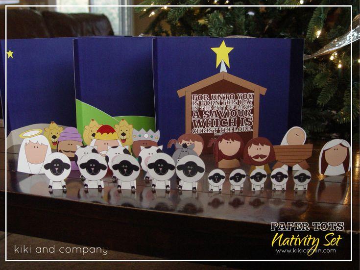 printable nativity set