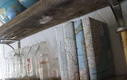 Copertine libri fai da te - Copertine con mappe geografiche