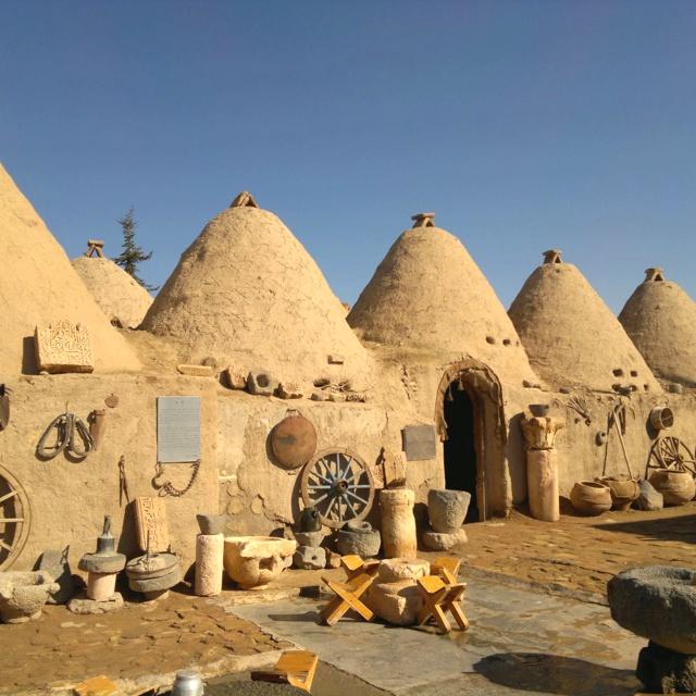 Harran Houses Urfa Turkey