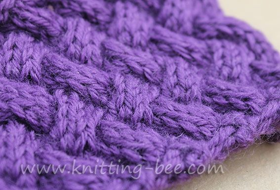 Basket Stitch Knitting : Best images about knitting aran cables on pinterest