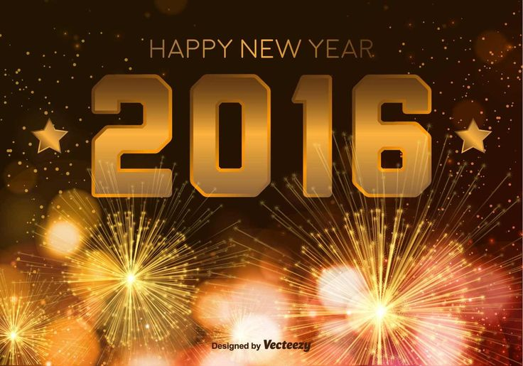 beautiful new year 2016 wallpaper