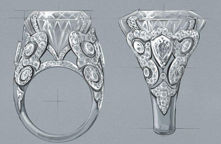 ring illustration Cartier Florence Gendre