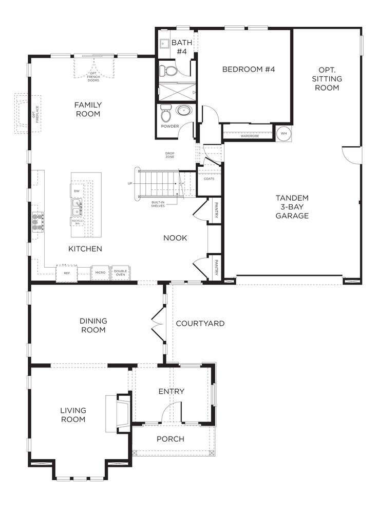 151 best Room Planning images on Pinterest | Arquitetura, Floor ...