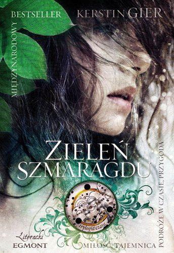 Smaragdgrün - Kerstin Gier   Polish cover