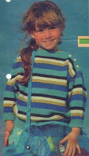 Kreatívny Magazín: Dievčenský bavlnený pulóvrik