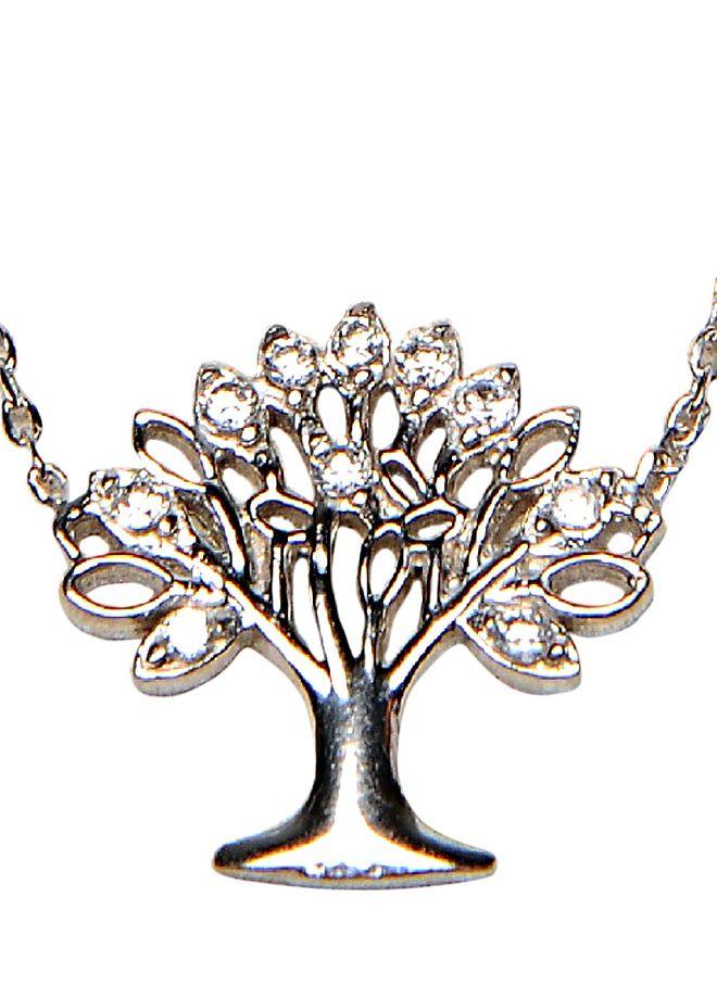 Söğütlü Silver Rodyumlu hayat ağacı