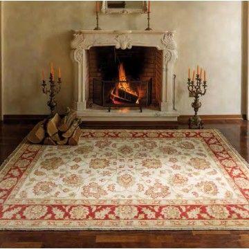 Alfombra Lana 100 % Ziegler 2 #Ambar #Muebles #Deco #Interiorismo #Alfombras | http://www.ambar-muebles.com/alfombra-lana-100-ziegler-2.html