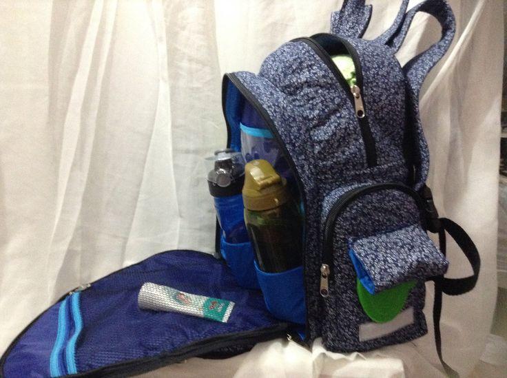como fazer uma mochila maternidade