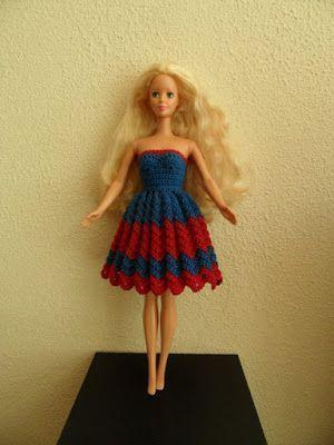 Barbie Haken Gratis Patroon Poppenkleertjes