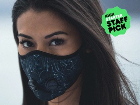 The urban breathing mask for health-conscious global citizens