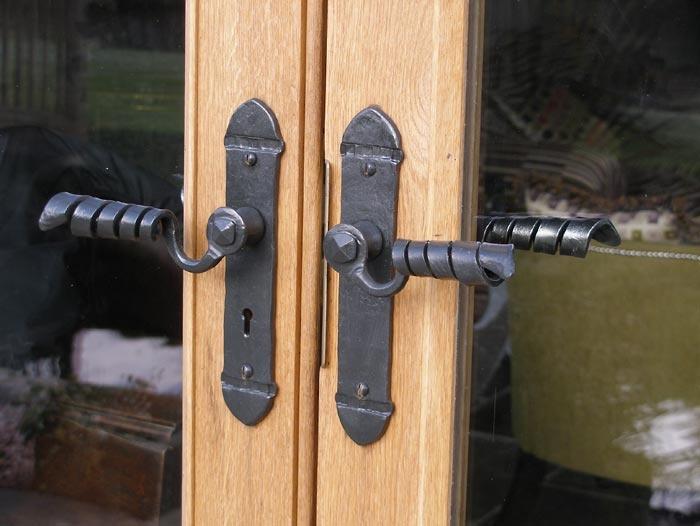 Lever Door Handles By Hinges Door Knobs External Doors Blacksmithing Metal Work Heavy Metal Railroad Spikes Iron Work & 986 best images about Doorknobs of note on Pinterest   Door ... Pezcame.Com
