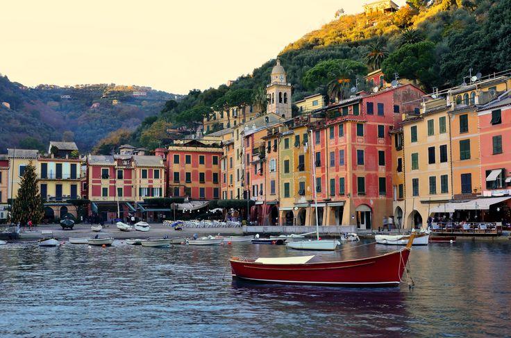 Portofino, View from the sea  #Portofino #Liguria #Italy #landscape# bestoftheday #bestofitaly #italianvillages