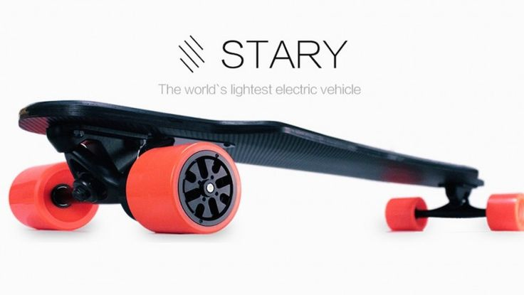 Fesselnd Stary Boards Is Raising Funds For STARY U2013 The Lightest And Most Affordable  Electric Skateboard On Kickstarter! Weighing Only Lbs And Achieving Speeds  Of Up ...