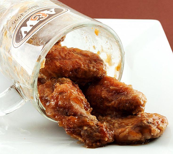 Root Beer Chicken Wings
