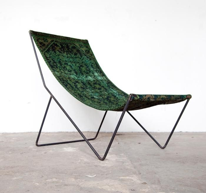 overdyed sling chairs from still co