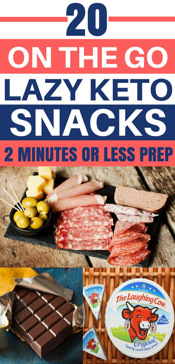20 Easy Low Carb Snacks (Keto Snacks) On The Go