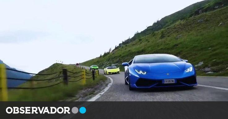 Huracán desafia uma das melhores estradas do mundo – Observador
