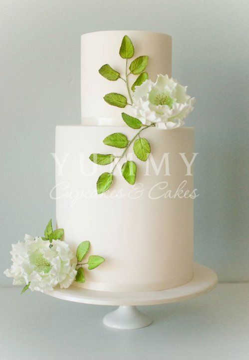 This was the plan for my wedding cake but the lady who did my cake had a different idea... Found out 3 hrs before the wedding. It sure did taste great though!