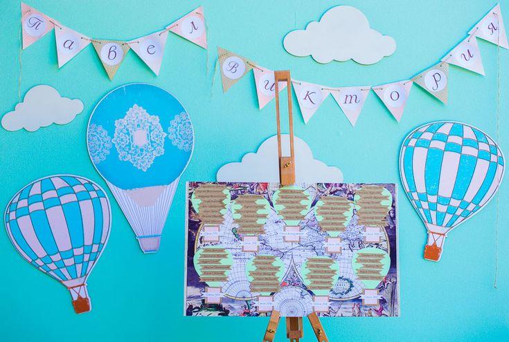 день рождения ребенка в стиле путешествия на воздушном шаре: 18 тыс изображений…