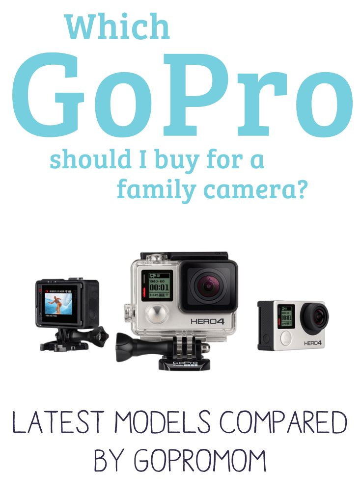 Which GoPro To Buy For a Family Camera? Latest Models Compared by GoProMom!