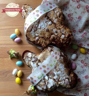 Batuffolando Ricette Colomba di Pasqua con frutta mista e gocce di cioccolato