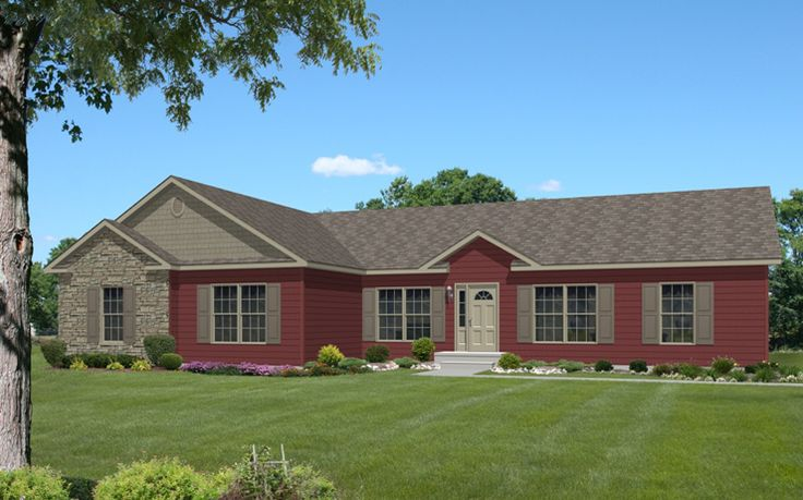Love this! Ranch Style House Addition Plans | Hester-NH Modular Home Floor Plan